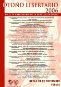 [CNT-Teruel] Otoño Libertario… en el 70 aniversario de la Revolución Social