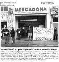 Reseña de la acción en la prensa local