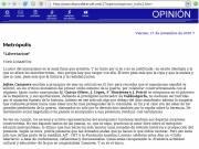 Un artículo sbre las jornadas de un columnista del Diario de Teruel