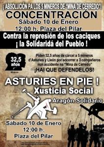 10-Enero-2015-CNT-Zaragoza-apoya-MINEROS-asturies