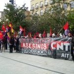 [CNT-Zaragoza] Crónica manifestación Anti-OTAN