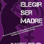 [Zaragoza] Concentración: Sí a elegir ser madre