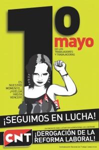 [CNT-Logroño] La manifestación del 1º de Mayo la convoca CNT