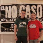 Concentración en Zaragoza por la absolución de Pablo y Jorge
