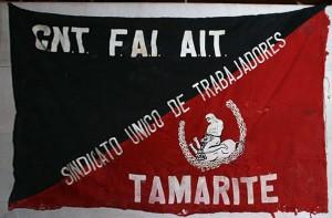 Bandera CNT Tamarite de Litera (HU)