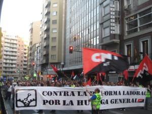 [14-N Zaragoza] Piquetes de CNT y resto de convocatorias