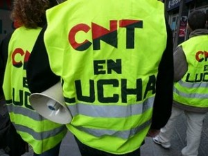 [CNT-Teruel] Concentración en la CAM