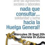 [Logroño] 26S Manifestación contra los recortes y por la Huelga General