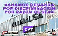 [CNT-Zaragoza] El TSJA vuelve a dar la razóna la CNT: se confirma la condena a ALUMALSA por acoso por razón de sexo