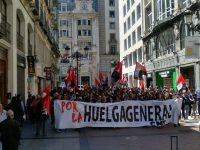 Crónica de la manifestación del 1º de mayo de la CNT de Zaragoza: la CNT llama a la Huelga General