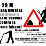 [Teruel] Lunes 26M, 20:00: asamblea pre Huelga General