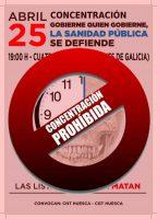 [CNT-Huesca]La Junta Electoral Provincial de Huesca Prohíbe Concentración en defensa de la Sanidad Pública