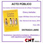 [CNT-Fraga] 8 de Marzo, acto público en Fraga