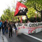 [CNT-Aragon.Rioja] Crónica manifestación 8 de Yesa en Zaragoza