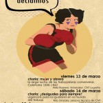 [CNT Zaragoza] Jornadas mujer trabajadora 2015