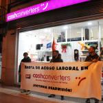 [CNT-Logroño] Crónica acción informativa en Cash Converters