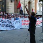 [CNT-Zaragoza] Crónica concentración en apoyo de la huelga de ALUMALSA
