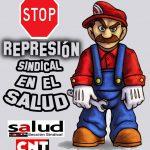 [CNT-SALUD] Concentración contra la represión sindical en el SALUD