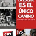 [CNT Zaragoza] El 10 de noviembre, una vez más, llamamos a la abstención. Estos son nuestros motivos: