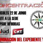 [CNT-SALUD] Cacerolada miércoles 22 de junio a las 19 horas frente a la sede del PSOE