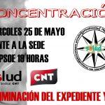 [CNT-SALUD] Concentración miércoles 25/05 frente a la sede del PSOE