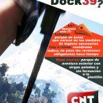 [CNT-Dock39] Concentración día 10 de diciembre a las 17:00 horas frente a Dock39 en Puerto Venecia