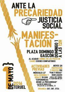 CNT Teruel 2016 1º de mayo