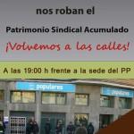 [CNT-Zaragoza] 13-F Concentración en protesta por el desalojo de la CNT de la sede en Andrés Gúrpide