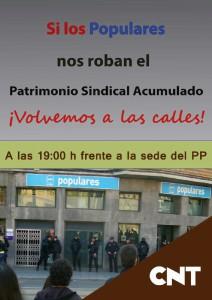 CNT-Zaragoza-Concentracion-protesta-desalojo-CNT-frente-sede-PP