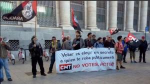 CNT-Zaragoza-concentracion-abstencion-activa-2015