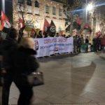 [CNT-Zaragoza] Crónica de la concentración contra la corrupción, la represión y los desalojos