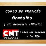 [CNT-Zaragoza] Curso de Francés Gratuíto