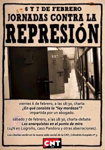 CNT-Zaragoza-jornadas-contra-la-represion-6-y-7-febrero-2015