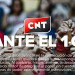 CNT ante el 1-O: Frente a la represión, defender los derechos y libertades