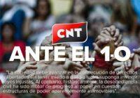 CNT ante la situación en Catalunya