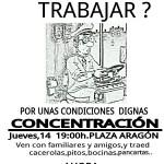 [CNT-Zaragoza] Concentración en apoyo a la plantilla de AUZSA