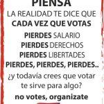 [CNT-Zaragoza] Campaña por la Abstención Activa ante las elecciones generales del 20D