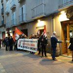 """[CNT-Tabenas B.G.] Crónica de la concentración frente a """"El Champi"""" y """"La Ballena Colorá"""" en Zaragoza"""