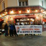 [CNT-Zaragoza] Concentración en solidaridad con la Sección Sindical de CNT en La Tagliatella