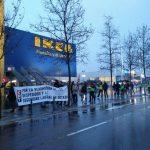 [CNT-Dock39] Crónica de la manifestación contra los despidos de Dock39 en Puerto Venecia