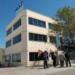 [CNT-Zaragoza] Piquete informativo en la empresa TROX