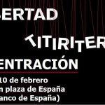 [CNT-Zaragoza] Concentración apoyo titiriteros encarcelados miércoles 10/02 en plaza de España