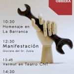 [Aragón-Rioja] Convocatorias 1º de mayo 2016