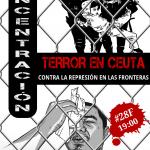 [CNT-Zaragoza] Concentración 28-F contra la masacre de Ceuta y la represión en las fronteras.