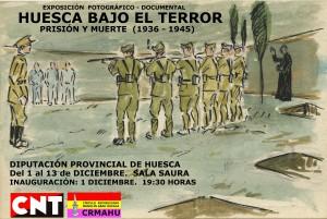 Cartel Exposición Fusilados Huesca