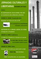Jornadas Culturales y Libertarias, Fraga noviembre 2019
