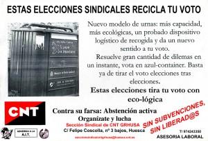 Cartel Recicla tu votoWEB