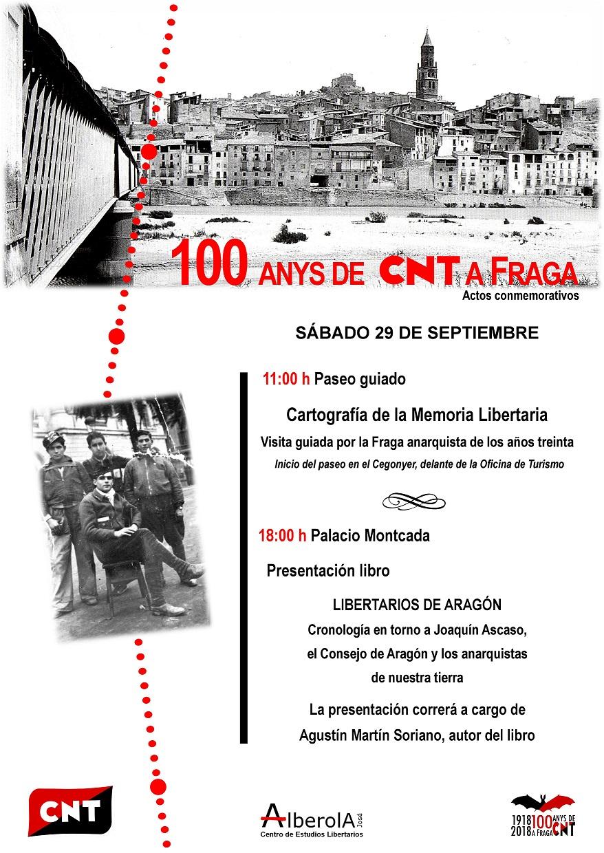 Cartel actos Centenario 29 septiembre