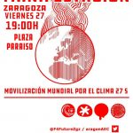 """[CNT-Zgz] Viernes 27: La lucha """"por el clima"""" es la lucha contra el capitalismo."""