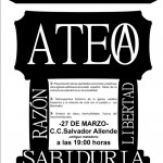 [CNT-Zaragoza] Cónclave Ateo el 27 de marzo